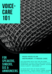 """FREE """"Voice-Care 101"""" e-book"""