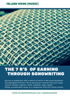 E-course - 7Rs of earning through songwriting
